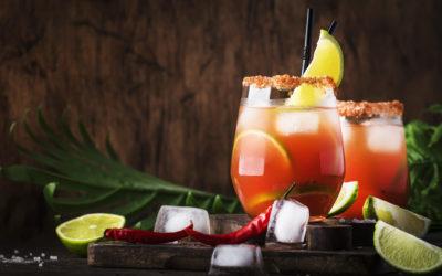 Le Red Cider cocktail